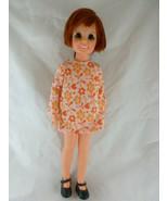 Crissy Vintage Ideal 1968 Doll growing hair 18 in. red hair dark eyes197... - $39.59