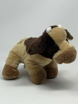 "Ganz WebKinz Plush Brown Cow 9"" Soft Stuffed Animal No Code HM197 - $7.91"