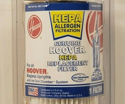 Genuine Hoover Hepa Replacement Filter, All Hoover Uprights, Allergen Fi... - $14.50