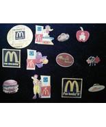 McDonald's Crew Pinbacks  Lot of 12 (2000's) - $45.00