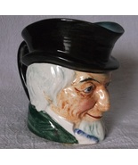 Vintage TOBY Creamer Mug Cup Occupied Japan Figural Bearded Man Gentleman - $24.98