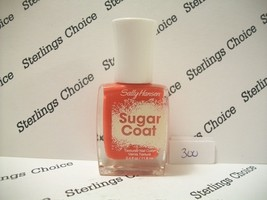 Sally Hansen Sugar Coat Textured Nail Color Polish #300 Cherry Drop - $5.26