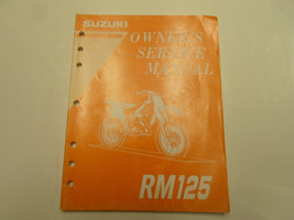 1996 Suzuki RM125 Owners Service Workshop Manual Factory Oem Book 96 Deal - $38.60