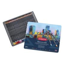 Derwent Procolour Professional Quality Artist Colour Pencil Tin Set of 24 - $35.37
