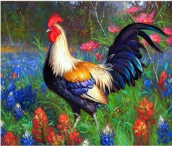 """Chicken Animal 16X20"""" Paint By Number Kit DIY Acrylic Painting on Linen Canvas  - $8.99"""