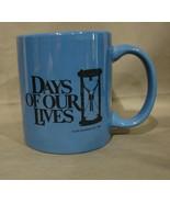Days of Our Lives TV Show Blue Ceramic Mug - $4.99