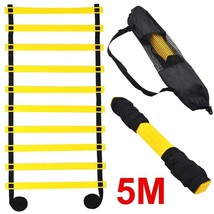 Topeakmart 5M 10-rung Sports Agility Ladder Agility Training Ladder Spee... - $14.55