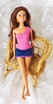 "Mattel Barbie's Friend 11 1/2"" Doll - Rigid Body Dated 1999 - Head Dated... - $8.59"