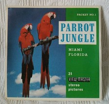 OPEN Sawyer's View-Master Parrot Jungle birds and Gardens (A965) 3 Reel Set - $12.65