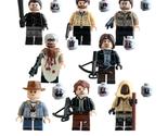 8 pcs The Walking Dead Blocks Action Figure Carl Rick Grime Fit Lego