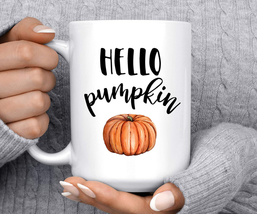 Hello Pumpkin Coffee Mug, Autumn Mug, Gifts for Father/Mom/Grandma/Ladie... - $20.94