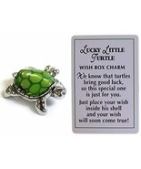 Ganz Lucky Little Turtle Wish Box Charm With Story Card! - $4.90