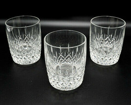 Centurion By Lenox Crystal Cut Whiskey Tumbler Set of 3 Glasses Vintage ... - $139.45