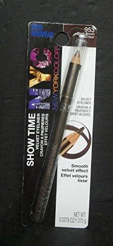 Primary image for (3 Pack) NYC Show Time Velvet Eyeliner - Black Brown