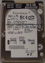 "30GB 2.5"" IDE Drive IBM IC25N030ATCS04-0 Tested Free USA Ship Our Drives... - $10.35"