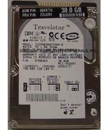 "30GB 2.5"" IDE Drive IBM IC25N030ATCS04-0 Tested Free USA Ship Our Drives... - $10.14"
