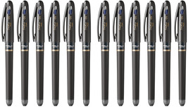 Pentel EnerGel Tradio 0.5mm Rollerball Pen (12pcs), Black / Blue Ink, BL... - $35.99