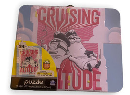 Minions Rise of Gru 24 piece puzzle in collectable tin/lunch box - new &... - $13.99