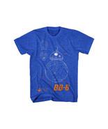 Star Wars The Force Awakens BB-8 Plans Diagram Blueprint T-Shirt NEW UNWORN - $18.37