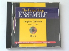 The Print Shop Ensemble Graphics Collection Disc 2 (Mac, 1997)Ships in 1... - $11.19