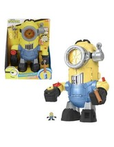 Fisher Price imaginext Minion Bot Robot Rise of Gru kung fu action NEW t... - $60.78
