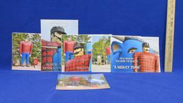 5 Photograph Pictures of Paul Bunyan & Babe the Blue Ox Bemidji MN Home - $9.85