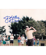 Jim Kelly signed Golf 8x10 Photo #12 minor scratches (Buffalo Bills)- PS... - $27.95