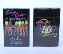 RIVIERA Casino 50th Anniversary CRAZY GIRLS 2 Decks Playing Cards Vegas ... - $22.71