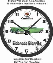 1957 CADILLAC ELDORADO BIARRITZ WALL CLOCK-Chevrolet, Buick, Ford - $28.70