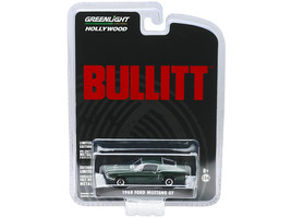 1968 Ford Mustang GT Fastback Green Bullitt (1968) Movie 1/64 Diecast Model Car  - $15.39