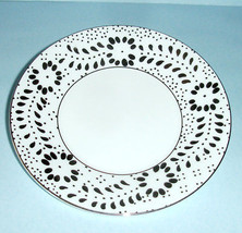 Wedgwood Jasper Conran 'Embroidered' Bread/Butter Plate Made in UK New - $22.90