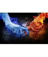 HAUNTED TWIN FLAME TRUE LOVE MAGICK 97 yr old Witch Cassia4 Magick AlBINA - $23.00