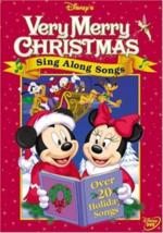 Sing Along Songs - Very Merry Christmas Disney DVD NEW - $14.99