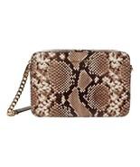 Michael Kors Jet Set Natural Snake Leather Large East West Crossbody Bag... - $138.11