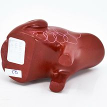 Vaneal Group Hand Carved Kisii Soapstone Fairytale Red Frog Prince Figure Kenya image 5