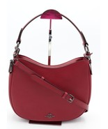 NWT Coach Nomad Red Glovetanned Leather Crossbody Convertible Bag Purse ... - $225.00
