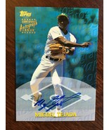 2000 Topps Certified Miguel Tejada #TA29 Baseball Card Auto Autograph Oa... - $19.99