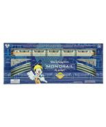 disney parks mickey & friends monorail orange train playset new with box - $125.99