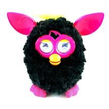 Furby Boom Black Pink Yellow Interactive Talking Electronic Plush 2012 - $14.99
