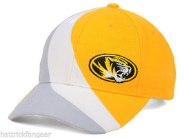 Missouri Tigers Mizzou Top of the World Slashed Structered NCAA Cap Hat - $17.09