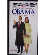 President Barack Obama Paper Dolls Paperback Book Tom Tierney Uncut Free... - $49.99