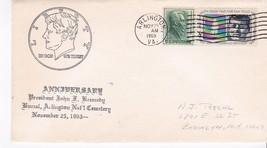 JOHN F. KENNEDY 6th ANNIVERSARY OF DEATH ARLINGTON VA NOVEMBER 25 1969 - $3.48