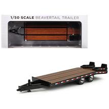 Beavertail Trailer Black 1/50 Diecast Model by First Gear 50-3228 - $43.07