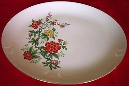 1956 issue Homer Laughlin China Rhythm RY170 Serving Platter - $19.75