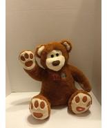 High 5 Five Interactive Bear Plush Talks Mouth Moves Sensor Give A High 5 - $14.95