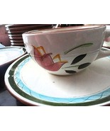 Stangl Pottery Country Gardens Cup Saucer Dinnerware - $4.99