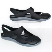 Crocs Womens Swiftwater Wave Sandals Water Slingback Slip On Beach Size ... - $34.80