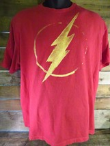Dc Comics Flash T-Shirt con Logo Taglia XL - $9.89