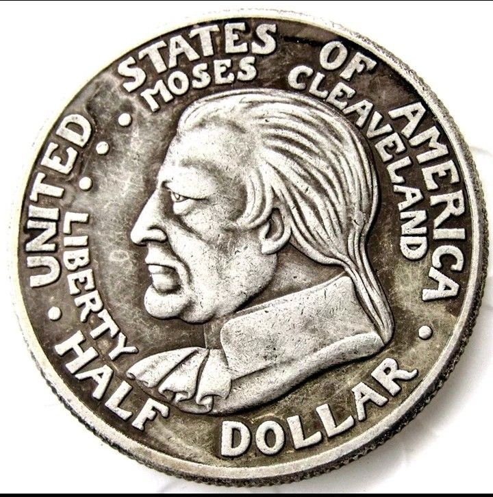 Primary image for 1936 Cleveland Centennial Commemorative Half Dollar Great Lakes Casted Coin