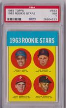 1963 Topps Rookie Stars Willie Stargell Rookie #553 PSA 7 P661 - $395.63